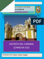 Distrito del Carmen