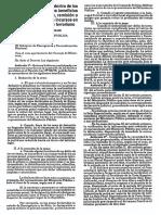"""Ley 25499 """"De Arrepentimiento"""" - Peru 1992"""
