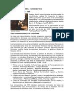 HISTORIA DE LA QUIMICA FARMACEUTICA