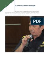 PPKP Tentang SOP Dan Peraturan Pakaian Seragam Dinas DJBC