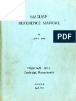 Moon-MACLISP Reference Manual-Apr 08 1974