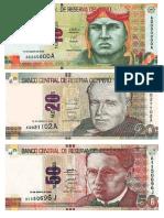 Billetes Color
