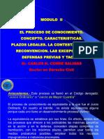 MODULO II-P. de Conocimiento