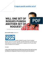 Will one set of rogues punish another set of rogues.docx
