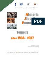 MemoriaEducativa Tomo4 1936 1957