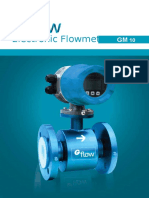 Gflow Brosur your prodak Flowmeter Elektromagnetic