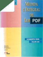 Fava N. y ZO, F. Medida e integral de Lebesgue.pdf