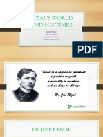 Rizal's World and His Times Ppt