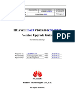 Huawei b683 v100r001c994b122 Version Upgrade Guide(Router)
