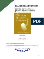 Los Lenguajes de La Economia Elies Furio Blasco