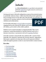 Firewall Pinhole - Wikipedia