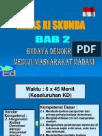 PKn XI Bab II Masyarakat Madani