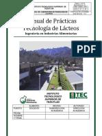 186226615 MANUAL de PRACTICAS Tenologia de Lacteos
