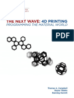 The Next Wave 4D Printing Programming the Material World