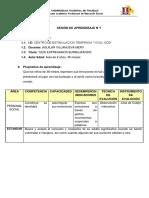 Programa Curricular- sesión 1