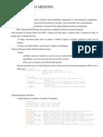 Programação Do Arduino