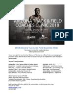 2018 AZ Coaches Clinic