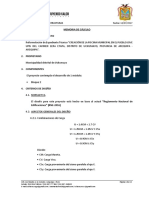 Memoria de Cálculo - Estructuras