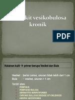 8. Penyakit Vesikobulosa Kronis