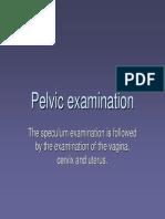Per Vaginal Examination