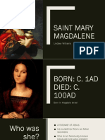 saint mary magdalene project
