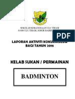 Buku Laporan Badbinton (2)