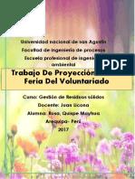 Proyeccion Social- Rosa Quispe Mayhua