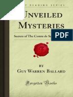 Guy Warren Ballard - Unveiled Mysteries