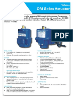 OM Series Electric Actuators