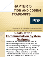 Chapter 5 - Modulation & Coding Trade-Offs