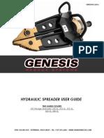 Genesis Rescue 2016 Spreaders User Guide