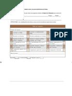 Rubrica Para Evaluar Competencias Lectoras en Primaria