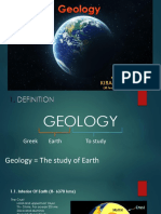 Geology Lecture Ppt