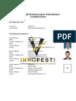 Formulir Pendaftaran Web Design Competition Smk Informatika