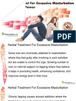 Herbal Treatment for Excessive Masturbation to Regain Sex Power
