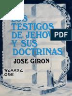Jose Giron - Los Testigos de Jehova y Sus Doctrinas