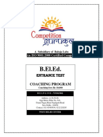 Best B.EL.Ed Coaching in Janakpuri Delhi NCR