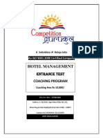 Best Hotel Management(HM) Coaching in Janakpuri Delhi NCR