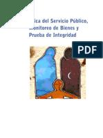 Etica del Servicio Publico, Monitoreo de Bienes y Prueba de Integridad - Transparencia Mexicana.pdf