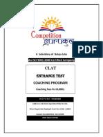 Best Clat Coaching in Janakpuri, Delhi