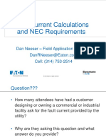 Delvi Fault Current Calculations and Nec Requirements