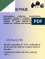 Exposicion Arbitraje Peru
