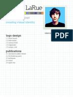 Robert LaRue Graphic Design Portfolio 2010
