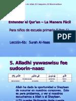 Entendiendo el quran para niños 6b