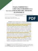 Perez Orozco LA Crisis de Cuidados Amenaza_tormenta