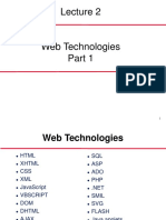 Lecture 2 web technology part-1