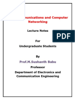 Dr.M.Sushanth Babu- DCCN- Lecture Notes