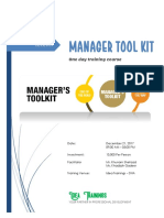 Manager Toolkit