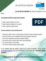 Job Ad - Ingenieur Services Industriels
