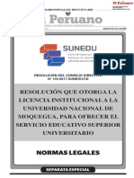 RESOLUCION N° 103-2017-SUNEDU/CD